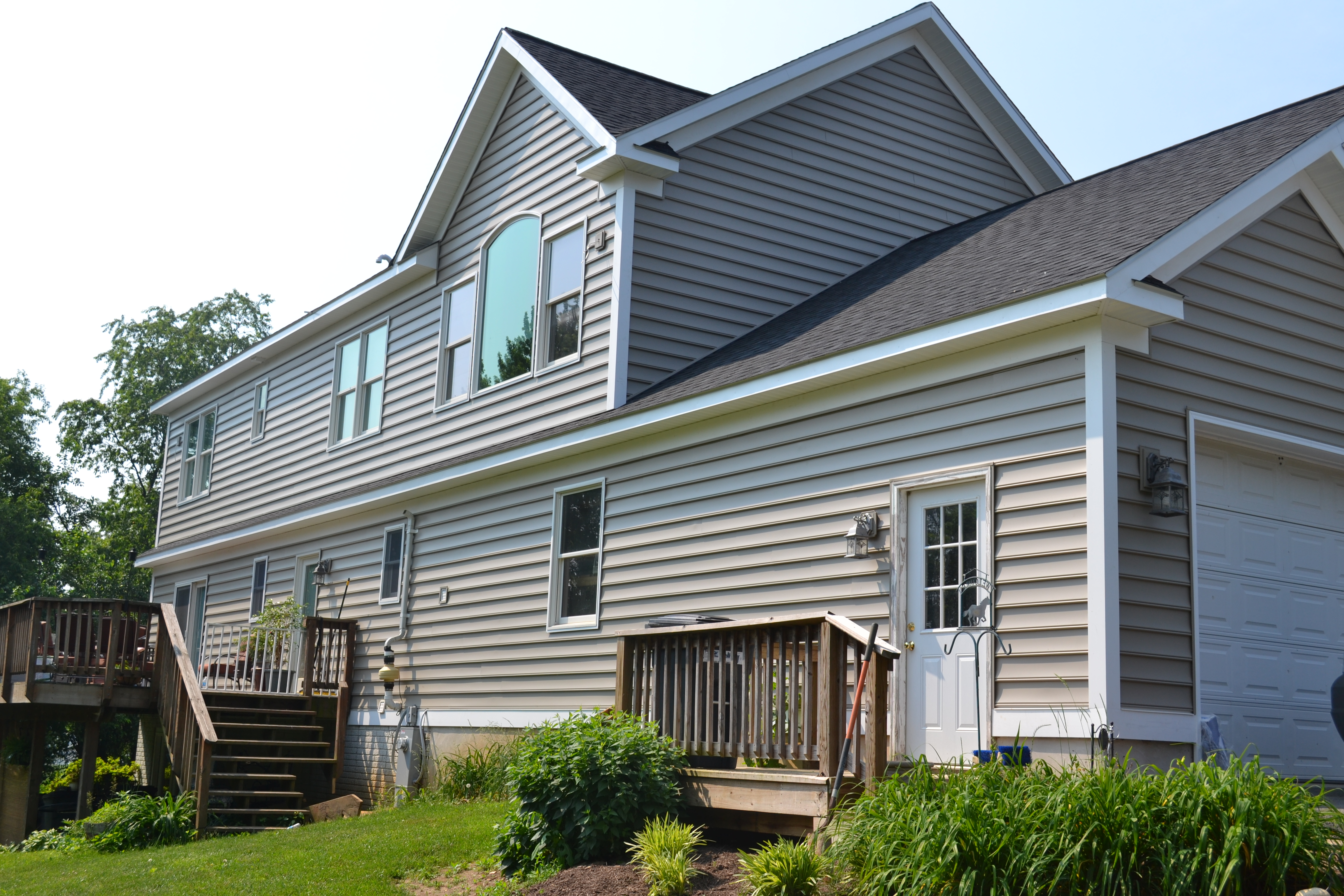 House Siding Color Natural Clay